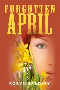 eBook cover art for Forgotten April